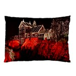 Clifton Mill Christmas Lights Pillow Case (Two Sides) Back
