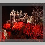 Clifton Mill Christmas Lights Deluxe Canvas 24  x 20   24  x 20  x 1.5  Stretched Canvas
