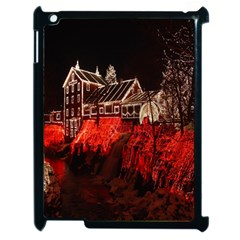 Clifton Mill Christmas Lights Apple iPad 2 Case (Black)