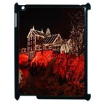 Clifton Mill Christmas Lights Apple iPad 2 Case (Black) Front