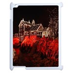 Clifton Mill Christmas Lights Apple iPad 2 Case (White) Front