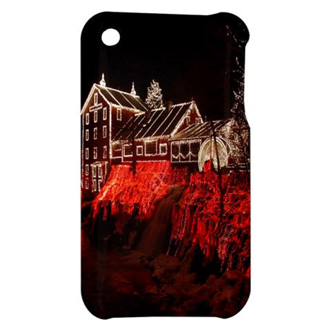 Clifton Mill Christmas Lights Apple iPhone 3G/3GS Hardshell Case