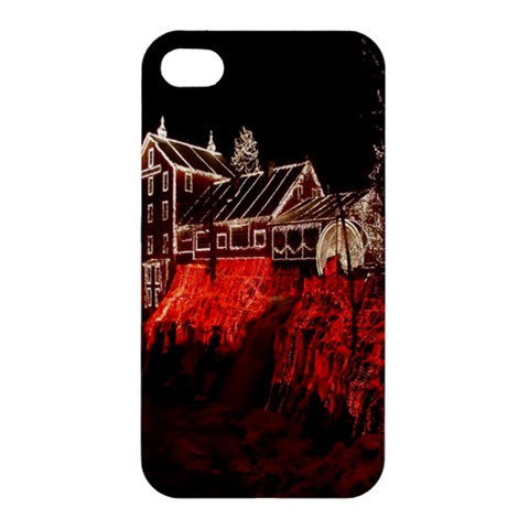 Clifton Mill Christmas Lights Apple iPhone 4/4S Hardshell Case
