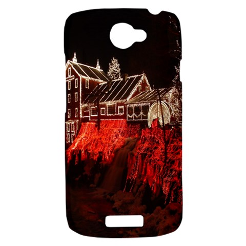 Clifton Mill Christmas Lights HTC One S Hardshell Case