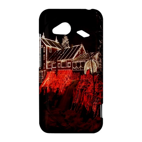 Clifton Mill Christmas Lights HTC Droid Incredible 4G LTE Hardshell Case