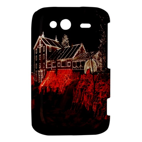 Clifton Mill Christmas Lights HTC Wildfire S A510e Hardshell Case