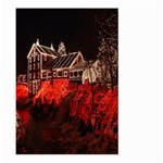 Clifton Mill Christmas Lights Large Garden Flag (Two Sides) Back