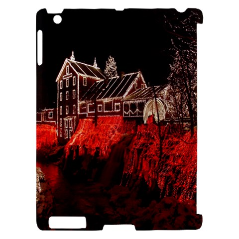 Clifton Mill Christmas Lights Apple iPad 2 Hardshell Case (Compatible with Smart Cover)