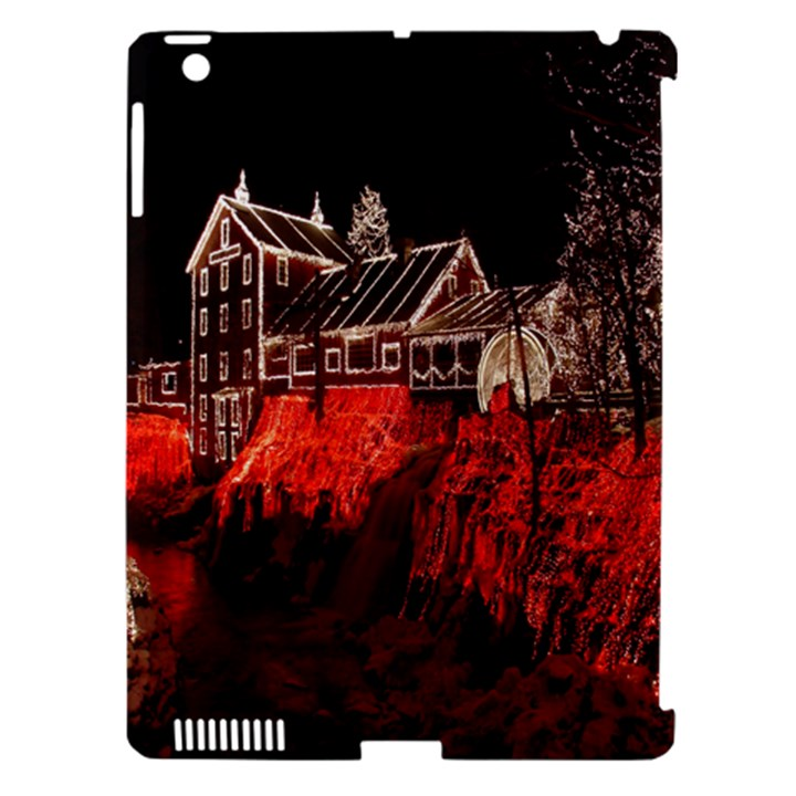 Clifton Mill Christmas Lights Apple iPad 3/4 Hardshell Case (Compatible with Smart Cover)