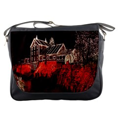 Clifton Mill Christmas Lights Messenger Bags
