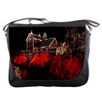 Clifton Mill Christmas Lights Messenger Bags Front