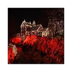 Clifton Mill Christmas Lights Acrylic Tangram Puzzle (6  x 6 ) Front