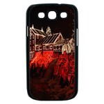 Clifton Mill Christmas Lights Samsung Galaxy S III Case (Black) Front