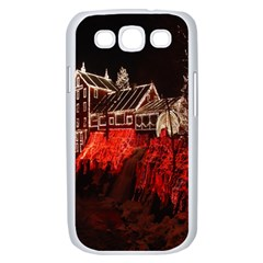Clifton Mill Christmas Lights Samsung Galaxy S III Case (White)