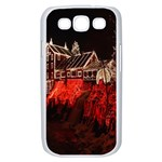 Clifton Mill Christmas Lights Samsung Galaxy S III Case (White) Front