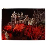 Clifton Mill Christmas Lights Cosmetic Bag (XXL)  Front
