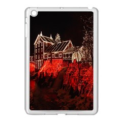 Clifton Mill Christmas Lights Apple iPad Mini Case (White)