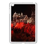 Clifton Mill Christmas Lights Apple iPad Mini Case (White) Front