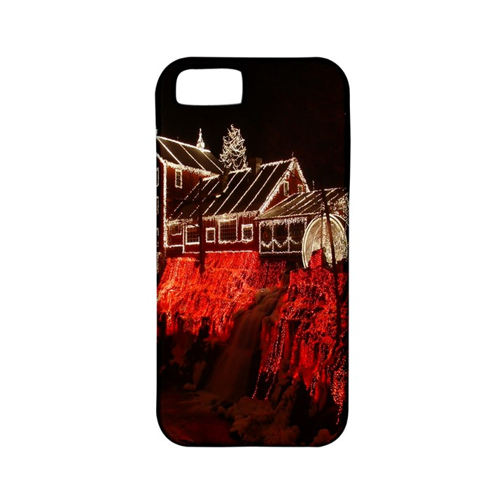 Clifton Mill Christmas Lights Apple iPhone 5 Classic Hardshell Case (PC+Silicone)