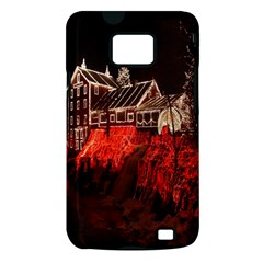 Clifton Mill Christmas Lights Samsung Galaxy S II i9100 Hardshell Case (PC+Silicone)