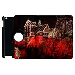 Clifton Mill Christmas Lights Apple iPad 3/4 Flip 360 Case Front