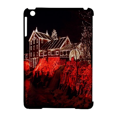 Clifton Mill Christmas Lights Apple iPad Mini Hardshell Case (Compatible with Smart Cover)