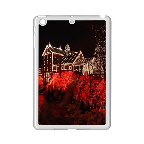Clifton Mill Christmas Lights iPad Mini 2 Enamel Coated Cases