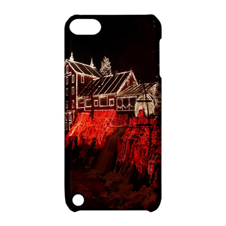 Clifton Mill Christmas Lights Apple iPod Touch 5 Hardshell Case with Stand