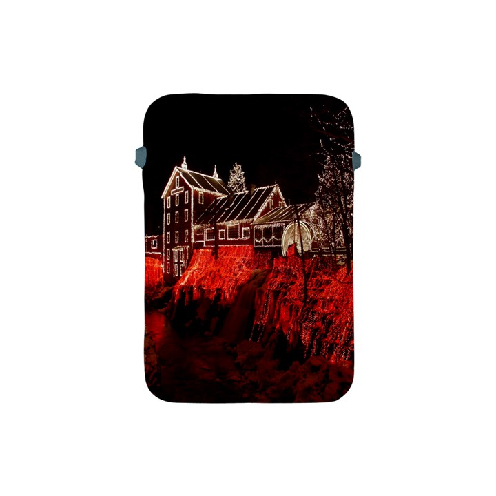 Clifton Mill Christmas Lights Apple iPad Mini Protective Soft Cases