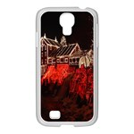 Clifton Mill Christmas Lights Samsung GALAXY S4 I9500/ I9505 Case (White) Front