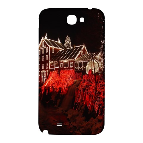 Clifton Mill Christmas Lights Samsung Note 2 N7100 Hardshell Back Case
