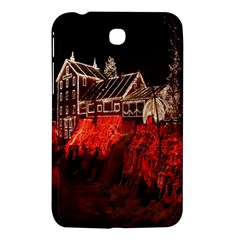 Clifton Mill Christmas Lights Samsung Galaxy Tab 3 (7 ) P3200 Hardshell Case