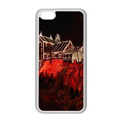 Clifton Mill Christmas Lights Apple iPhone 5C Seamless Case (White)