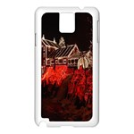 Clifton Mill Christmas Lights Samsung Galaxy Note 3 N9005 Case (White) Front
