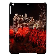 Clifton Mill Christmas Lights iPad Air Hardshell Cases