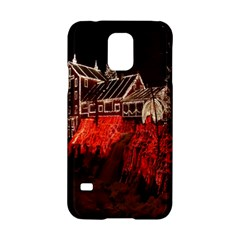 Clifton Mill Christmas Lights Samsung Galaxy S5 Hardshell Case
