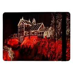Clifton Mill Christmas Lights Samsung Galaxy Tab Pro 12.2  Flip Case