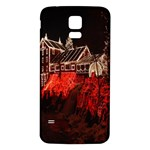 Clifton Mill Christmas Lights Samsung Galaxy S5 Back Case (White) Front