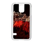 Clifton Mill Christmas Lights Samsung Galaxy S5 Case (White) Front