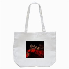 Clifton Mill Christmas Lights Tote Bag (White)