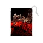 Clifton Mill Christmas Lights Drawstring Pouches (Medium)  Front