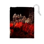 Clifton Mill Christmas Lights Drawstring Pouches (Large)  Front