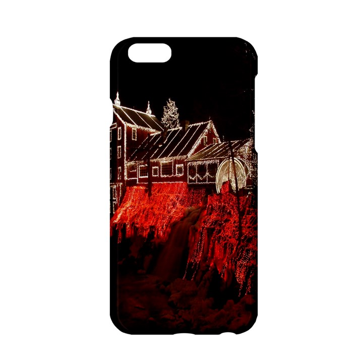 Clifton Mill Christmas Lights Apple iPhone 6/6S Hardshell Case