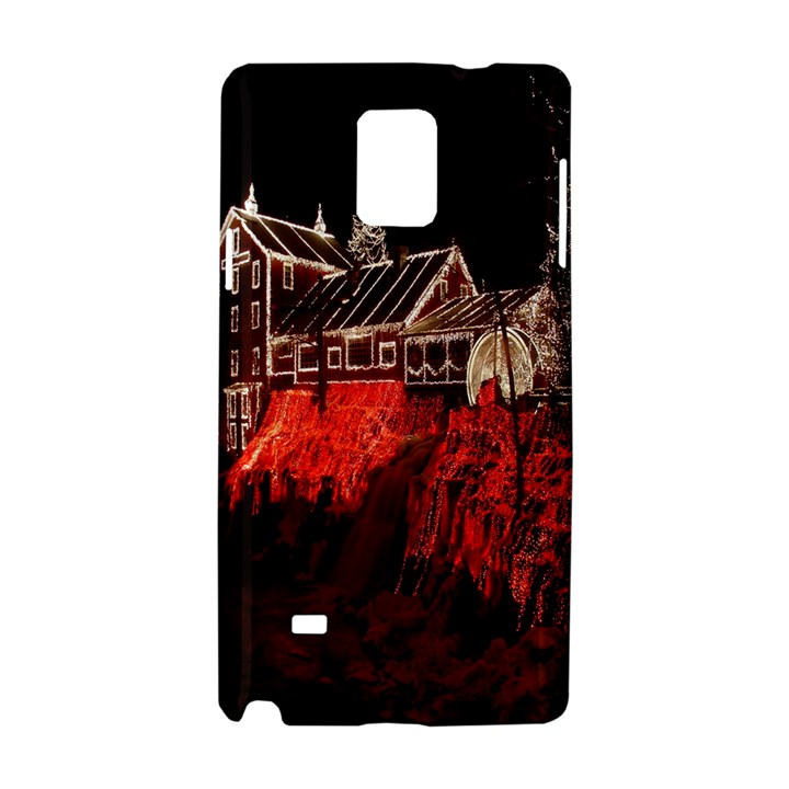 Clifton Mill Christmas Lights Samsung Galaxy Note 4 Hardshell Case