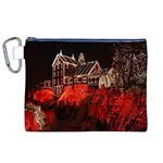 Clifton Mill Christmas Lights Canvas Cosmetic Bag (XL) Front