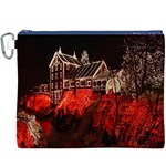 Clifton Mill Christmas Lights Canvas Cosmetic Bag (XXXL) Front