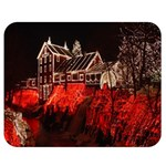 Clifton Mill Christmas Lights Double Sided Flano Blanket (Medium)  60 x50 Blanket Front