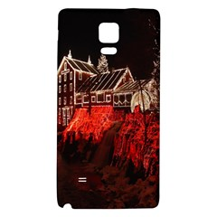 Clifton Mill Christmas Lights Galaxy Note 4 Back Case