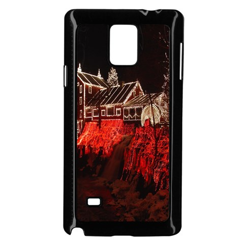 Clifton Mill Christmas Lights Samsung Galaxy Note 4 Case (Black)