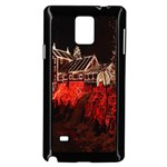 Clifton Mill Christmas Lights Samsung Galaxy Note 4 Case (Black) Front